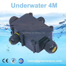 TUV nylon 4-way junction box waterproof underground ip68 waterproof electrical box