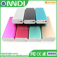 100% real capacity Custom power bank charger 20800 mah for all smart phone