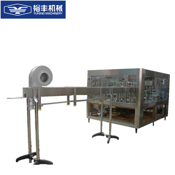 Complete automatic mineral water bottle filling machine with automatic PLC control oil greasing system