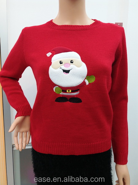 2017 Lasted Jacquard-knit jumper christmas sweater ugly sweater