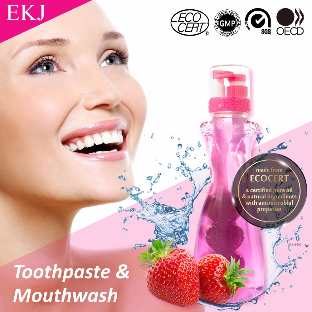 eliminate oral odor 2 in1 toothpaste for whitening mouthwash