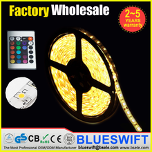 Outdoor 2835 3528 smd rgb flexible and trimmable led strip light