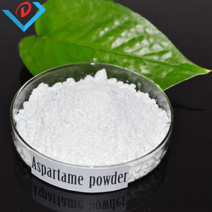 food additive sweetener aspartame powder