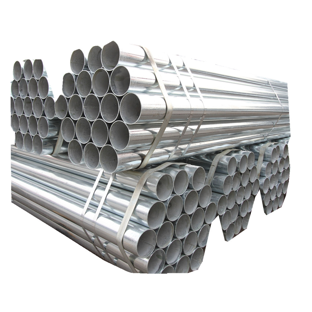 GB Q235 GB Q345 Galvanized Pipe wholesale galvanized pipe China Round Galvanized Pipe large diameter galvanized welded steel pip