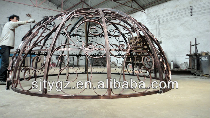 Fancy wrought iron canopies 2015