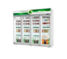 Luxurious commercial display cooler refrigerator showcase cabinet