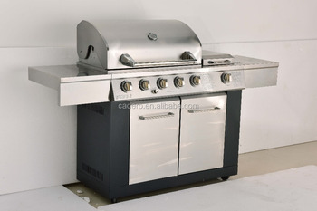 CBL-510BC-I gas grill with infrared side burner