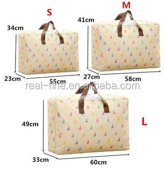 Foldable Increase Large Capacity Travel Bags Clothing Underwear Storage Organizer Bed Quilt Packaging Pouch Accessories Supplies