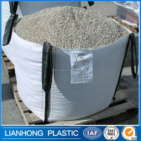 Golen quality jumbo big bag 1200kg,recycled big bag construction, raw material big bag for sand