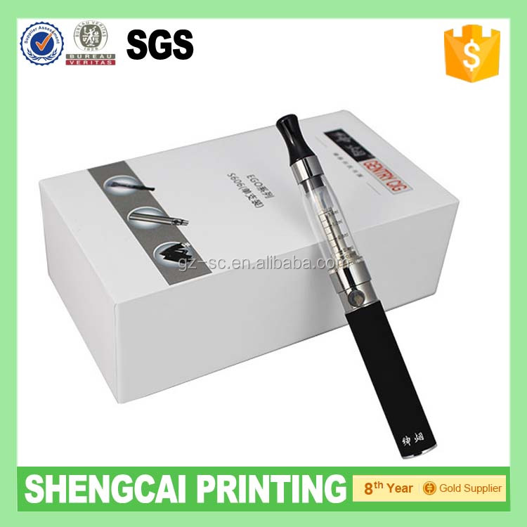 Top and bottom Gift box for packaing Oil Vaporizer Cartridge