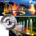 12W IP68 Stainless Steel 12V Color Change Fountain Led Lights