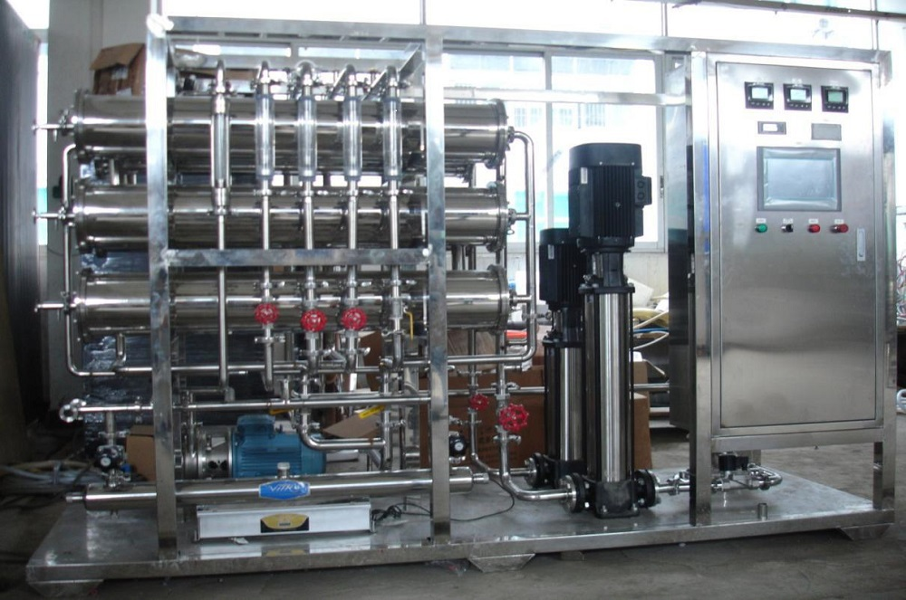 Chemical industry reverse osmosis plant
