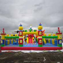 Fascinating outdoor playground inflatable fun city amusement park