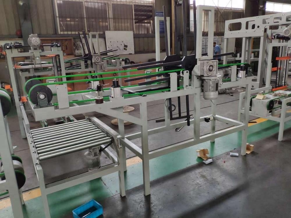 Steel Drum Automatic Lids Turnover Device for 210L Steel Drum Production Line