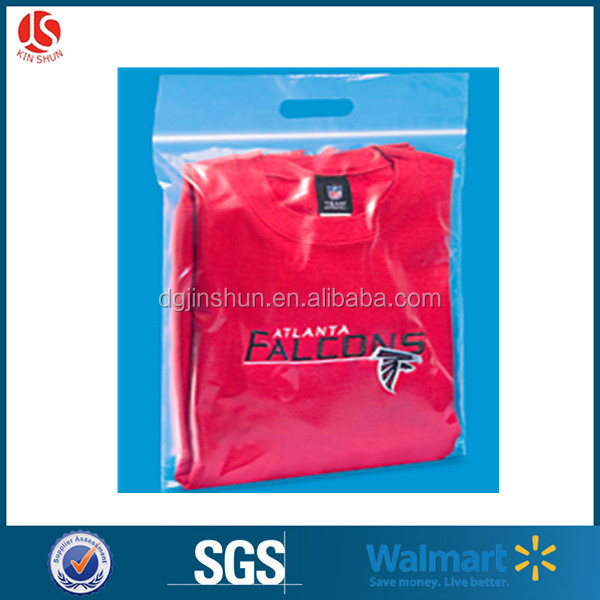Hot Selling Custom LDPE Plastic Fitted Garment Packaging Ziplock Bag For Clothes