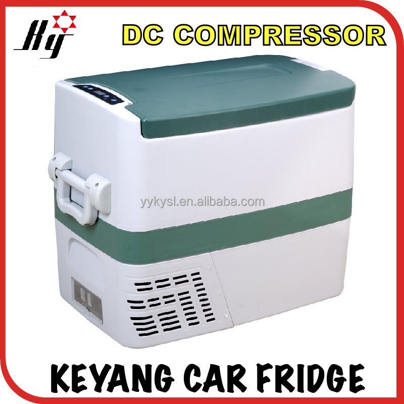 50L dc 12v car portable fridge freezer mini refrigerator camping outdoor ice cream