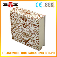 Trade Assurance Supplier Wholesale Fashion Paper Packaging Wine Box/ Flip Top Paper Wine Box With Magnetic Catch