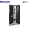 Back massage indoor free standing shower enclosure