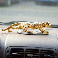 new product europe style car lion leopard supplies accessories polyresin mother and child elepant figurine