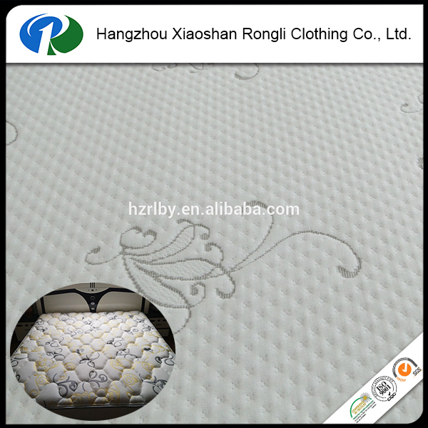 wholesale knitted mattress fabric home textile