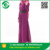 Fashion Long Section Ladies Dresses With Applique Shoulder Muslim Robe Dress