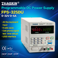 ZHAOXIN FPS-325DU Programmable Laboratory Switching dc power supply with USB