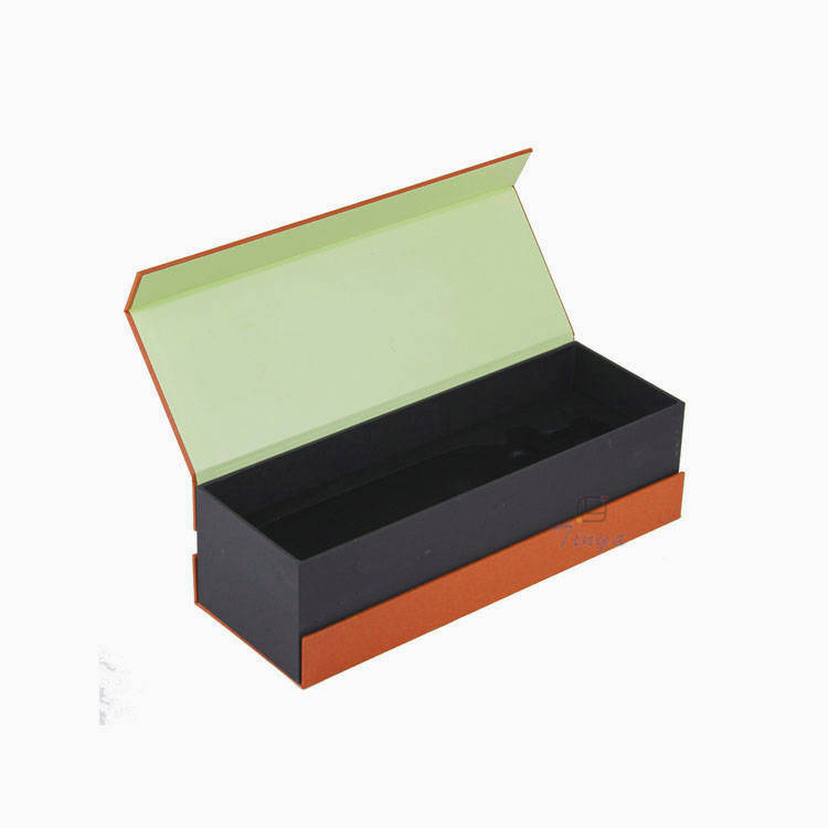 wholesale clamshell book wine gift box large