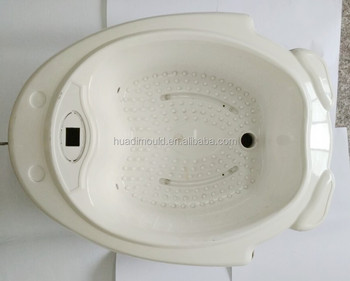 Custom comfort foot bath foot bath shell for plastic injection mold