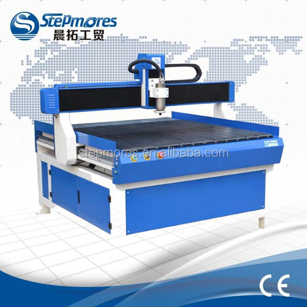 Stepmores mach3 USB system cnc 1212 router for wood,advertising work