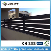 WPC decorative garden fencing