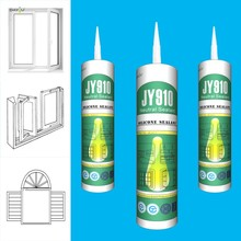 High Tensile Strength Aluminum Glass Glue & Good Elasticity Neutral Silicone Sealant JY910