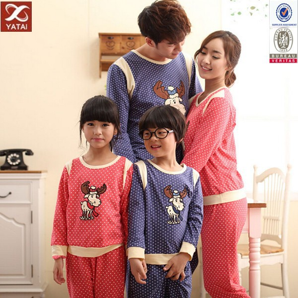 New Style Top Quality Matching Family Christmas Pajamas