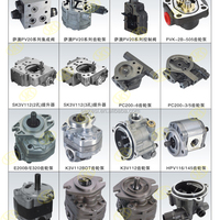 HPV90 Hydraulic Gear Pump Oil Charge