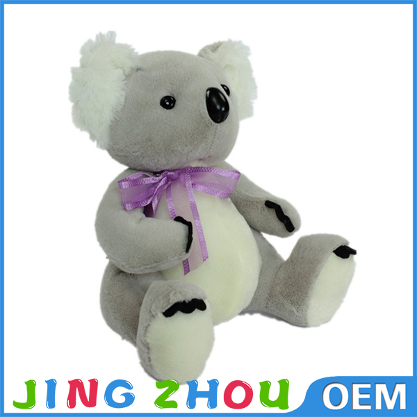 "13"" cute koala soft with bow tie"