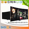 Guangzhou sasion smart uhd tv wholesale led motherboard lcd tv stand