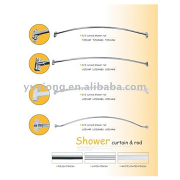 Bathroom Accessory Curved Shower Curtain Rod