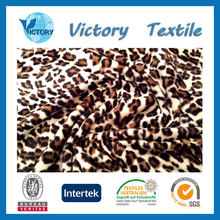 Cheap 100% Polyester Animal Printed Velboa Faux Fur Fabric