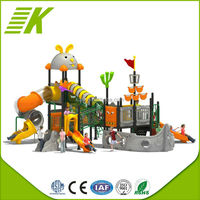 Plastic Outdoor Playground Swing/Used Commercial Outdoor Playground Adventurous Equipment Sale