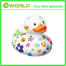 Hot Printed Custom Logo Rubber Duck Promotional Bath Duck