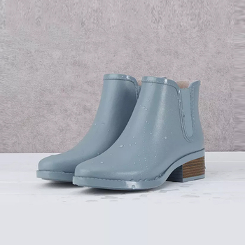 ankle ladies rubber rain boots womens wellington