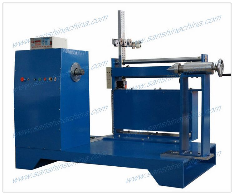 Precision CNC automatic high torsion heavy aluminum foil big coil winding machine