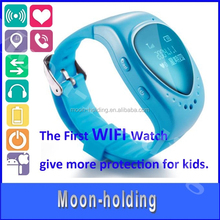 2015 fashion Kids Smart Watch With wifi call and answer GSM GPS tracker function wristwatch for children