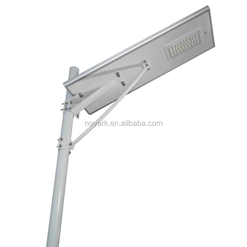 50w solar energy saving led street light with optional post