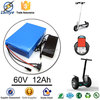 Hot selling wholesale OEM 12v lithium battery pack 60V 12Ah lithium battery pack with BMS Charger
