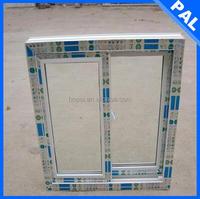 2.8mm thickness Anti rot brown aluminium window frames in Guatemala