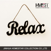 New coming hot sale different letter home wall decoration pendant
