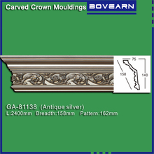 Gypsum like Building decorative material cornice moulding