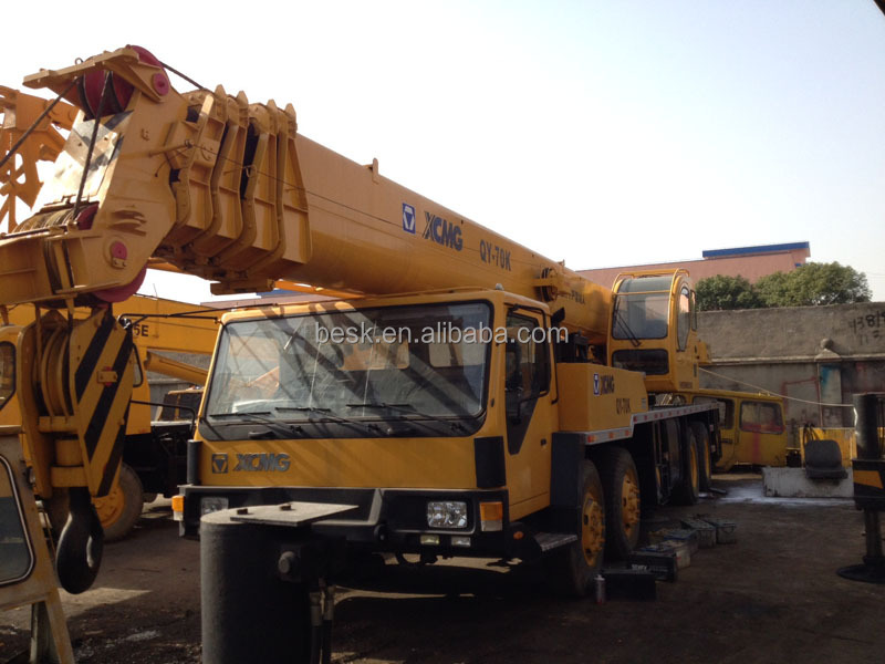 Rigante Telescopic Mobile Cranes : Telescopic xcmg t mobile crane truck used