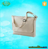 reusable canvas messenger bag/cotton tote bag/canvas shoulder bag