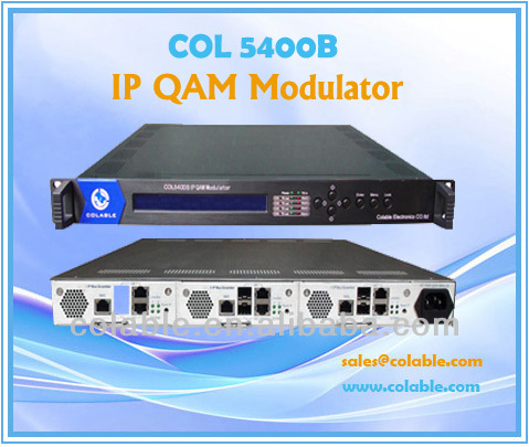 2014 HOT COL5400B Professional Agile Modulator Catv Headend